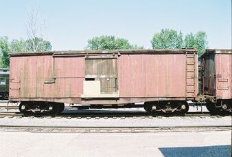 Old Wooden Boxcar