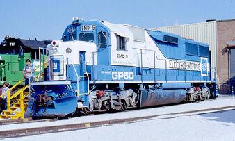 EMD GP60 Demonstrator