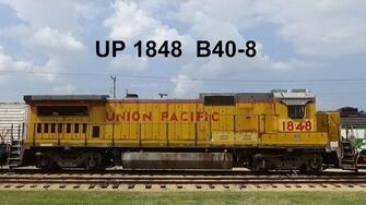 UP 1848, a GE B40-8 at IRM tour, walkaround, and more!