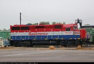 Rail America GP40X