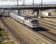 Early Amtrak F40PH