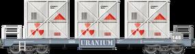 Uranium Container Car