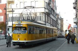 Rynek Grudziadz tram