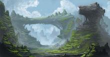 Fantasy landscape by azelinus-d5ysvlf