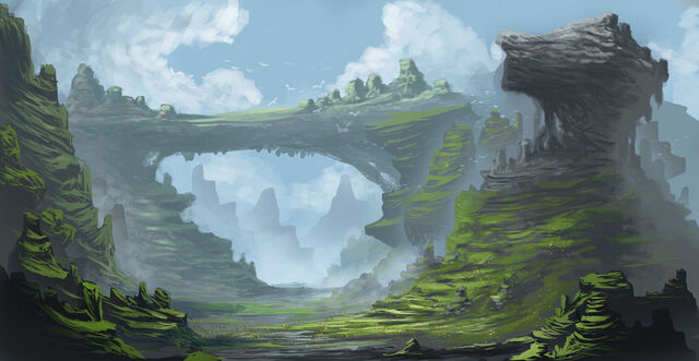 File:Fantasy landscape by azelinus-d5ysvlf.jpg
