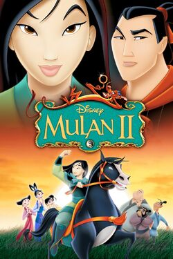 Disney's Mulan II - iTunes Movie Poster