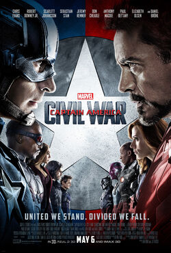 Marvel's Captain America - Civil War - Theatrical Poster