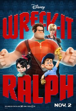 Disney's Wreck-it-Ralph - Theatrical Movie Poster