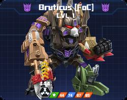 D E Com - Bruticus FOC pose