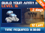 M wave6 lev16 build your army ii
