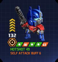 A E Hun - Optimus Prime FOC pose