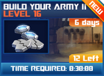 M wave3 lev16 build your army ii