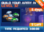 M wave8 lev32 build your army iv