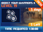 M wave2 lev19 boost your warriors ii