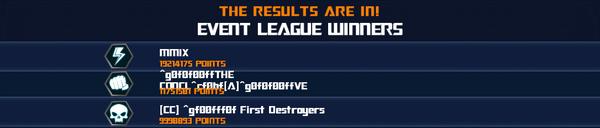 Event G2 Episode 1 League Winner
