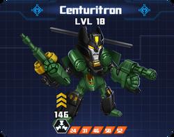 M R Com - Centuritron pose