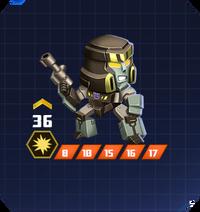 D C Sol - Megatron pose