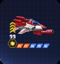 A S Sol - Jetfire II pose 2