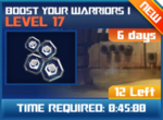 M wave8 lev17 boost your warriors i
