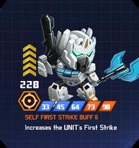 A E Hun - Nova Prime pose