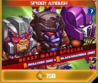 P spider ambush transmetals beast wars episode 2
