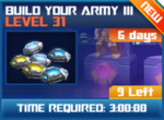 M wave8 lev31 build your army iii