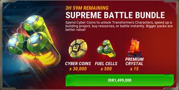 Bundle battle supreme ads a