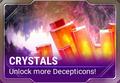 Ui build crystal d