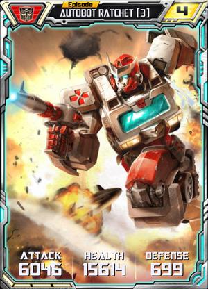 Autobot Ratchet 3 Robot
