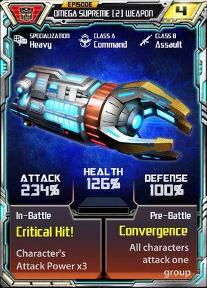 Omega Supreme (2) Weapon