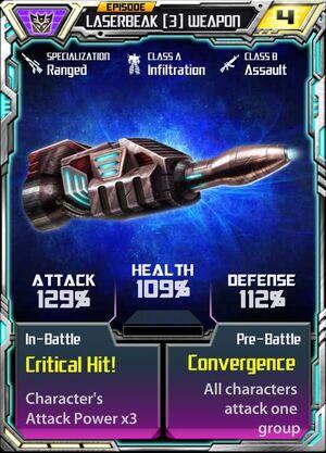 Laserbeak 3 CO Weapon