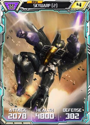 Skywarp (2) - Robot