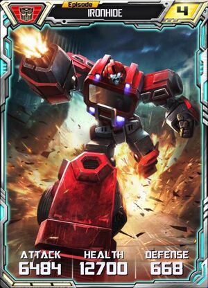 Ironhide 4 Robot