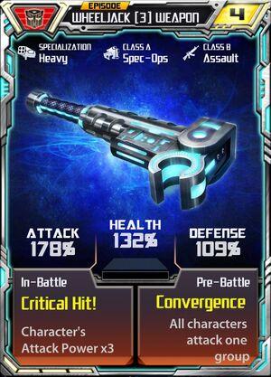Wheeljack (3) Weapon