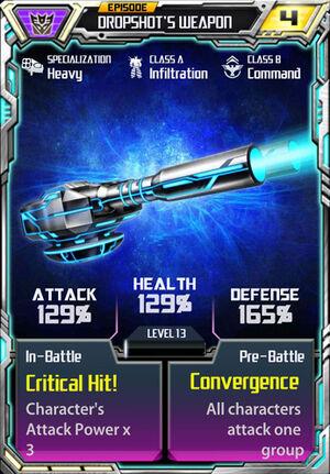 Dropshot 1 Weapon