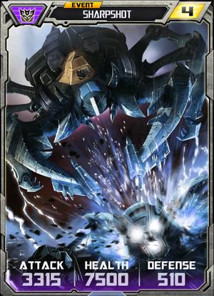 (Decepticons) Sharpshot - Alt (4) - Event
