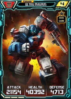 Episode Ultra Magnus - Robot MTM