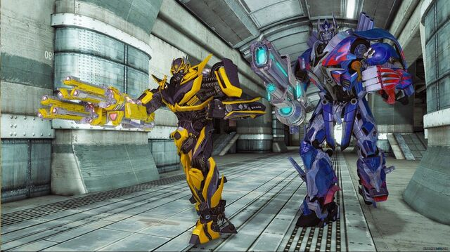 File:Bumblebee and Optimus - Rise of the Dark Spark.jpg