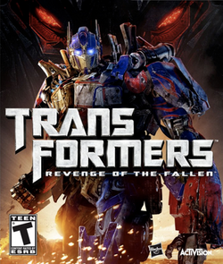 Transformers Revenge of the Fallen Video Game