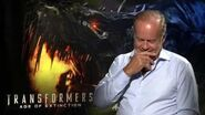 """Transformers 4 Age of Extinction Kelsey Grammer """"Harold Attinger"""" Official Movie Interview"""