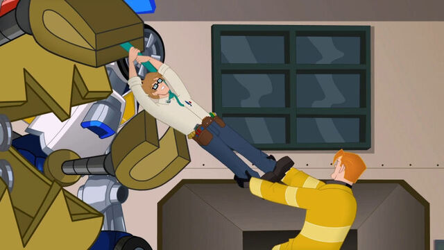 File:IslandOfMisfitTech Scrapmaster grabs Graham.jpg