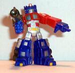 Robot Hero Supermetal Optimus Prime
