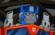 Optimus Prime Rescue Bots
