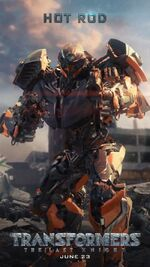 Transformers 5 Hot Rod Poster