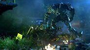 Transformers Age of Extinction - Lockdown Kills Ratchet