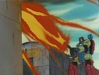 Masterforce ep30 Cancer Flamethrower