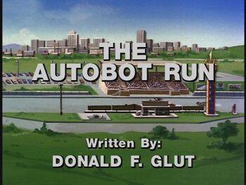 The Autobot Run title shot