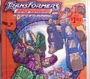 Transformers Armada Sticker Book (Мегатрон)