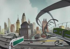 Animated cartoon Detroit