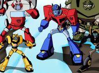Megatron Rising 2 Autobots assemble